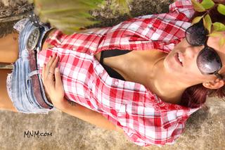 Cameron Models Daisy Dukes