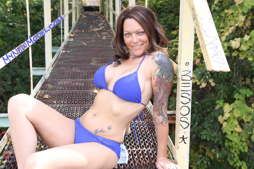 Chloe Lee Modeling Outdoors