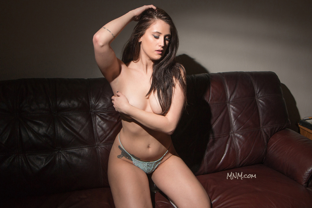 Leah Modeling Nude Boudoir
