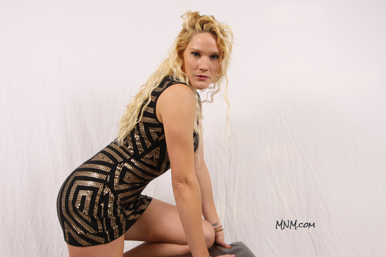 Dana Modeling Some Glamour