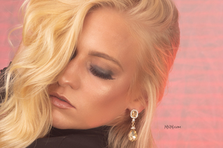 Supermodel Ashley Fink